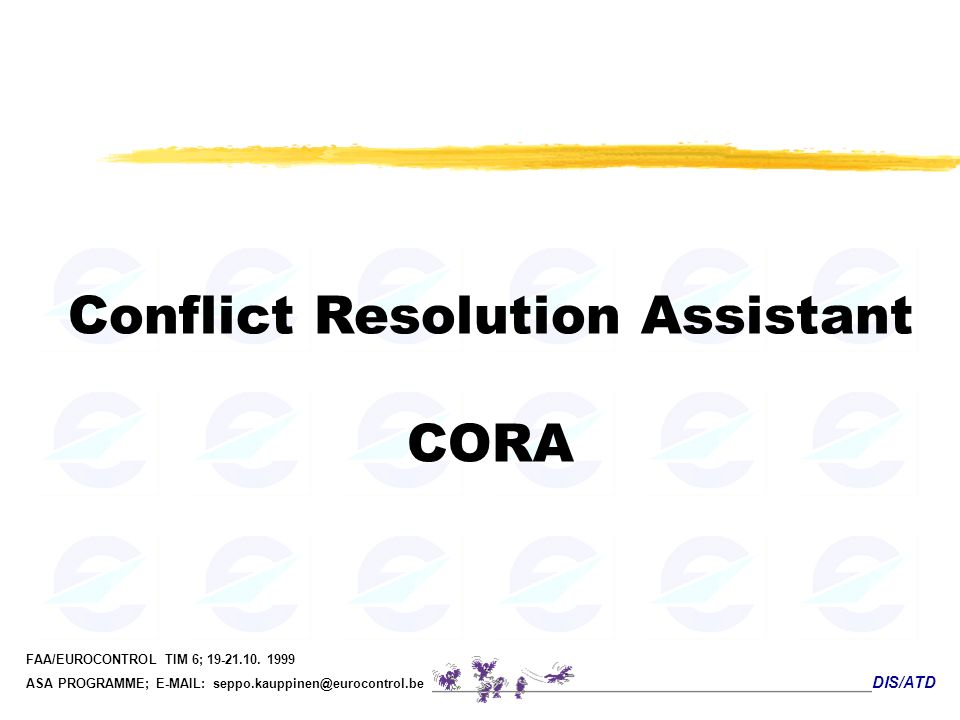 Conflict Resolution Assistant