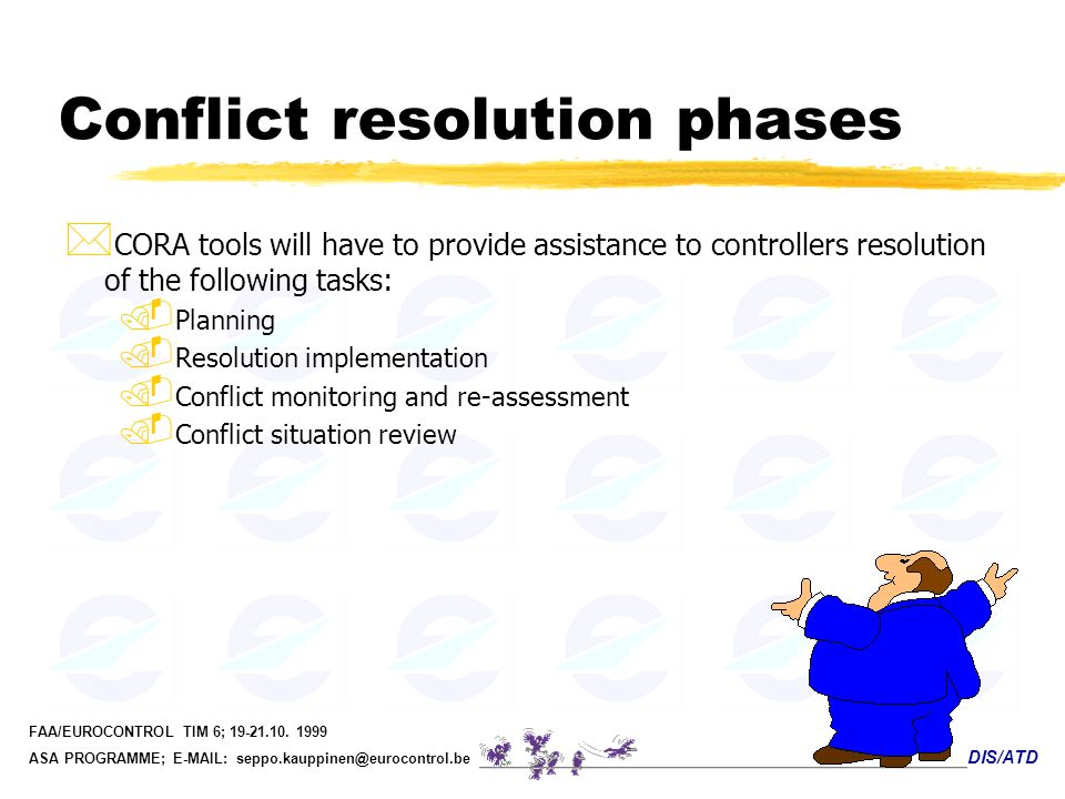 Conflict resolution phases