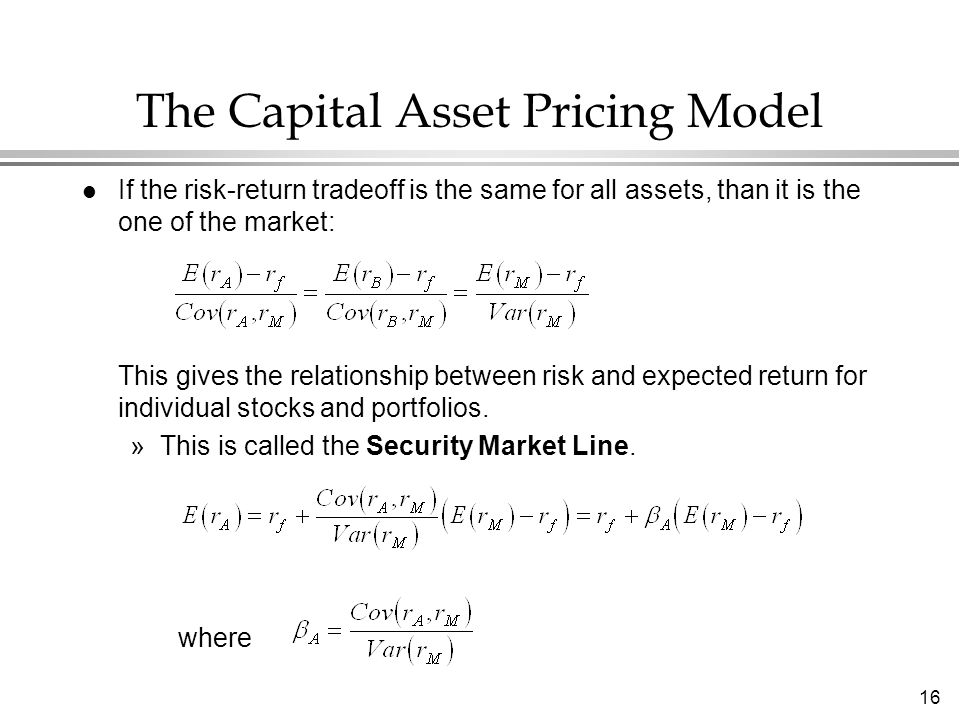 capm is a model The capital asset pricing model (capm) is a special case of the arbitrage pricing model (apt) in that capm uses a single factor (beta as sensitivity to market price changes) whereas the apt has multiple factors which may not include the capm beta.