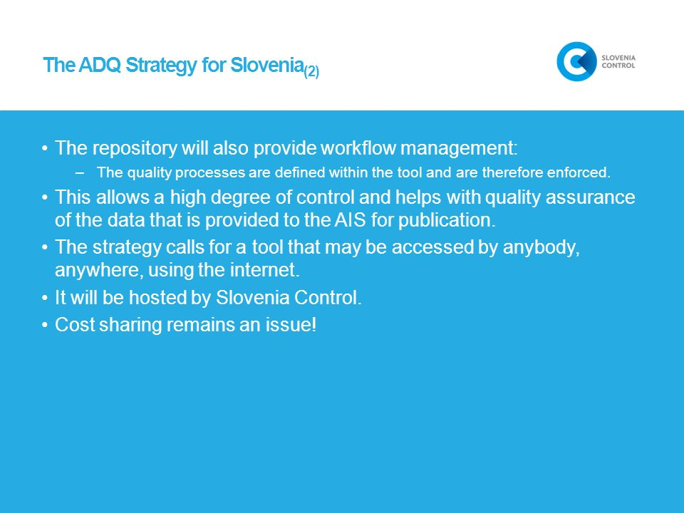 The ADQ Strategy for Slovenia(2)