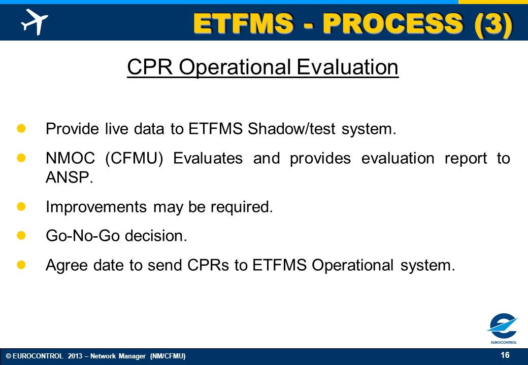 CPR Operational Evaluation
