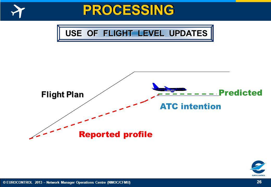 USE OF FLIGHT LEVEL UPDATES