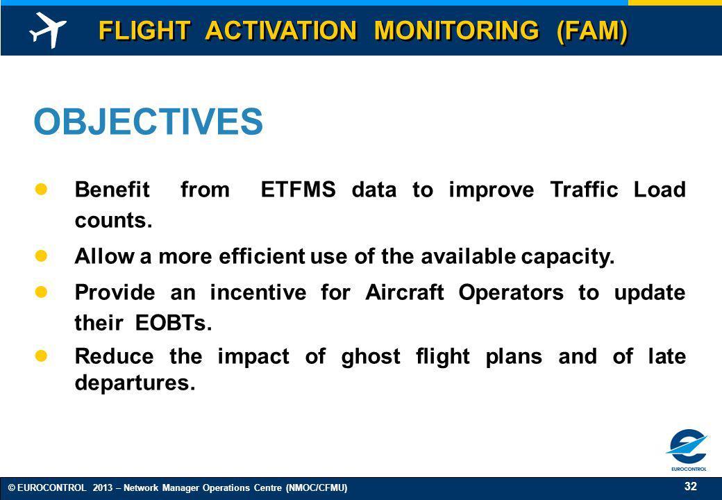 OBJECTIVES FLIGHT ACTIVATION MONITORING (FAM)