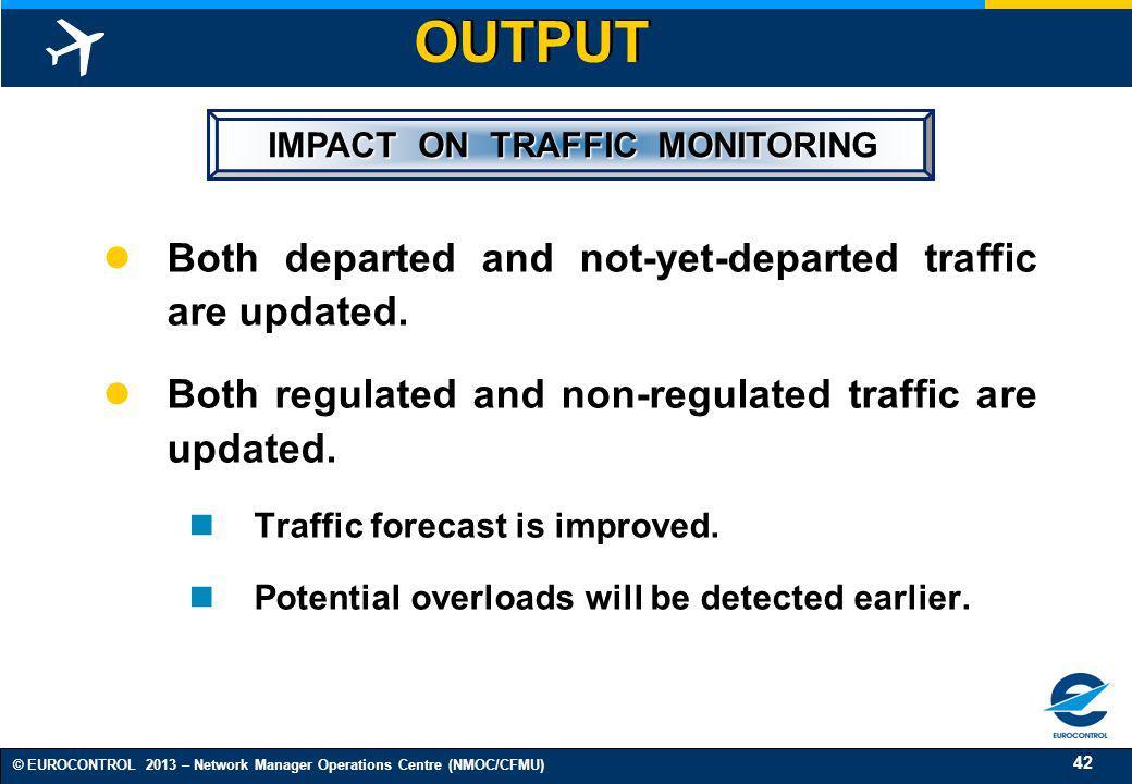 IMPACT ON TRAFFIC MONITORING