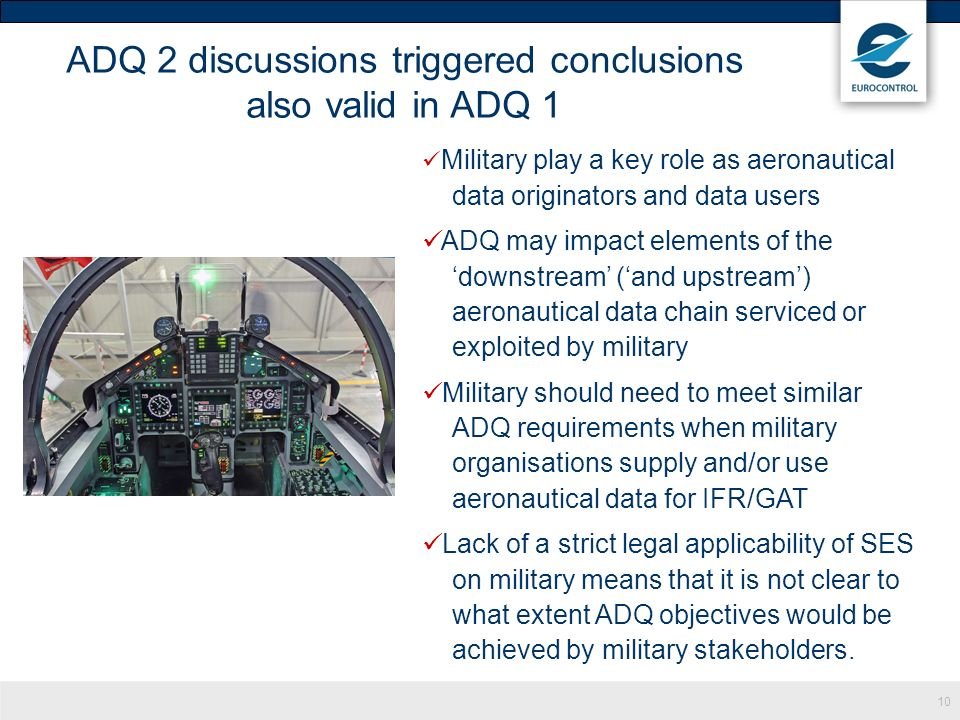 ADQ 2 discussions triggered conclusions also valid in ADQ 1