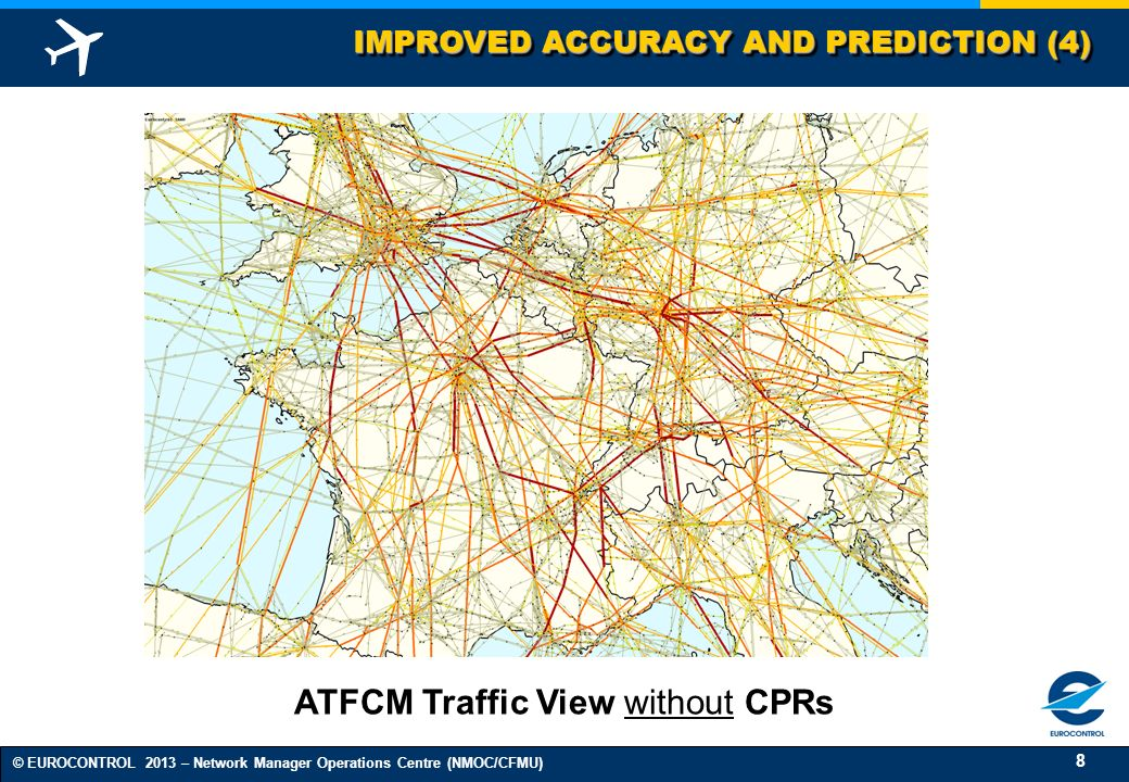 ATFCM Traffic View without CPRs