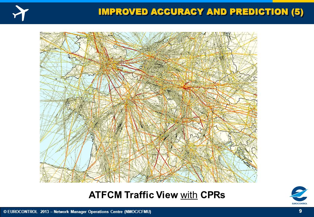 ATFCM Traffic View with CPRs