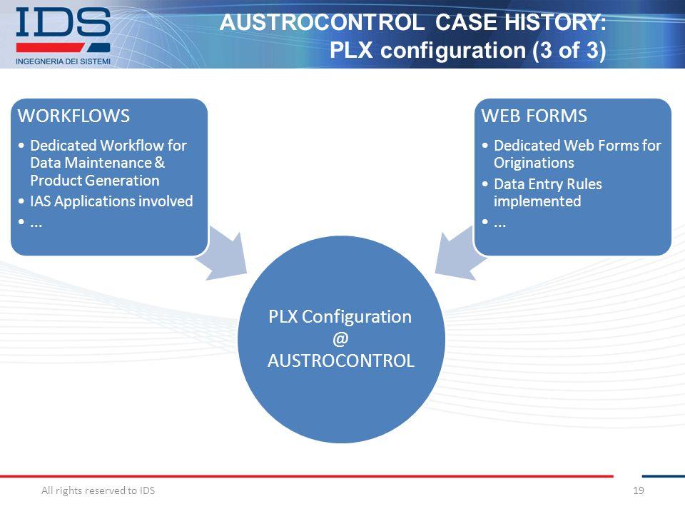 PLX Configuration @ AUSTROCONTROL