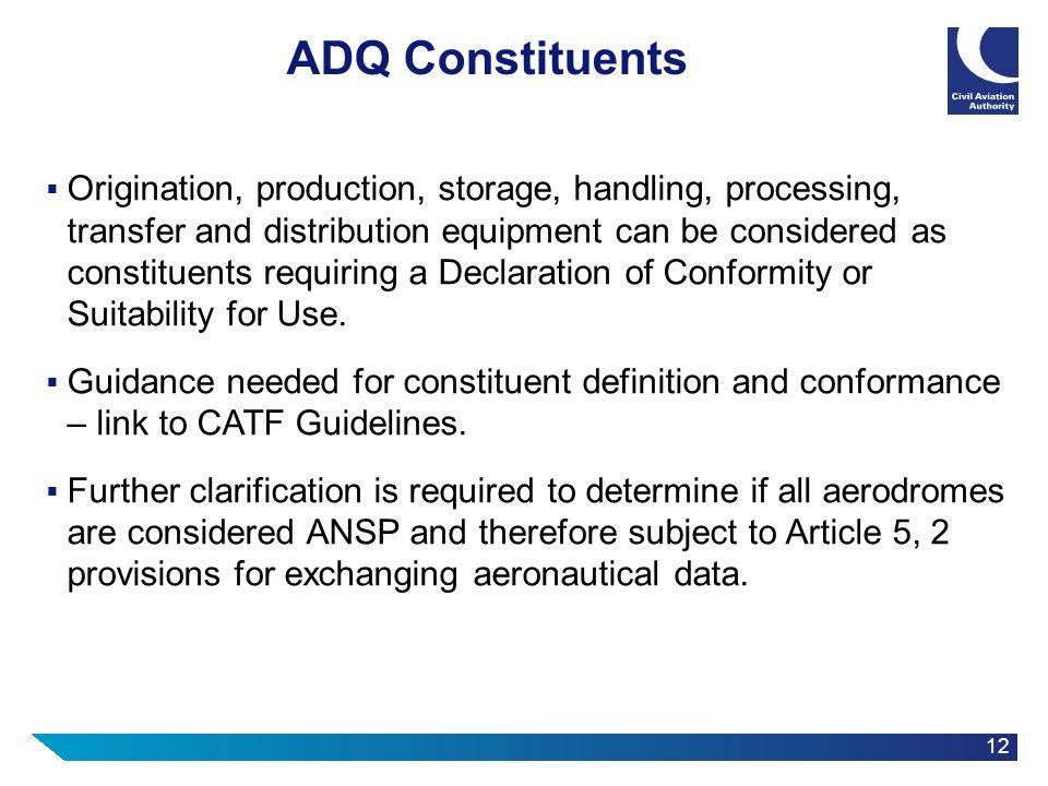 ADQ Constituents