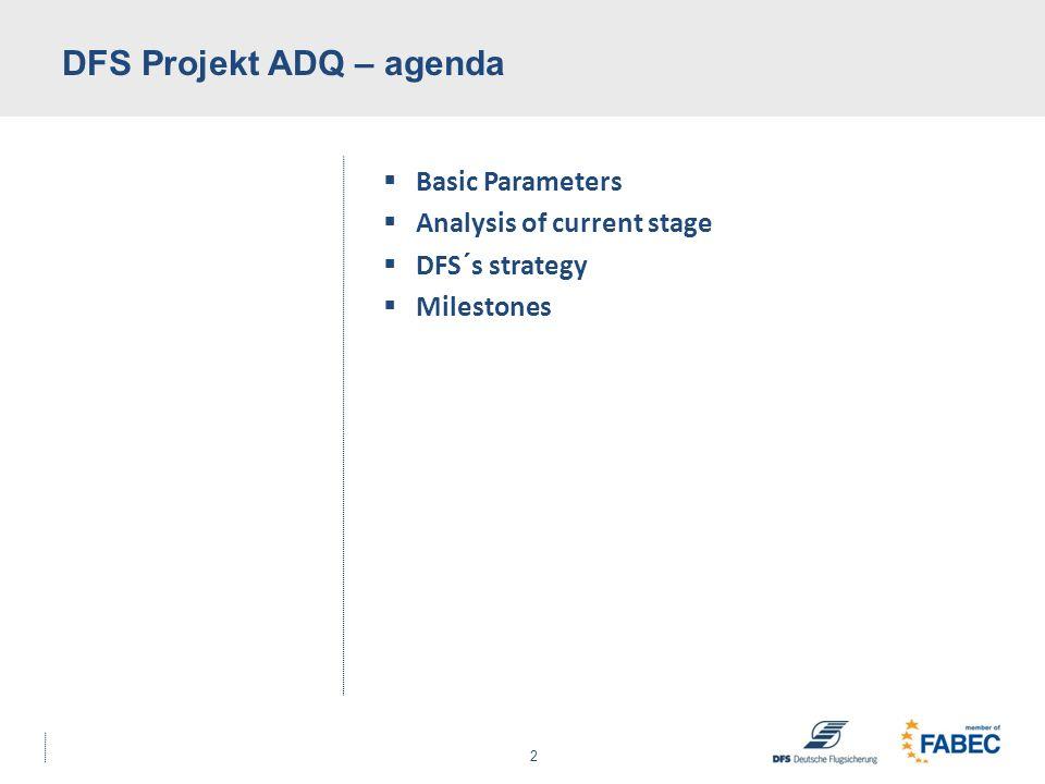 DFS Projekt ADQ – agenda