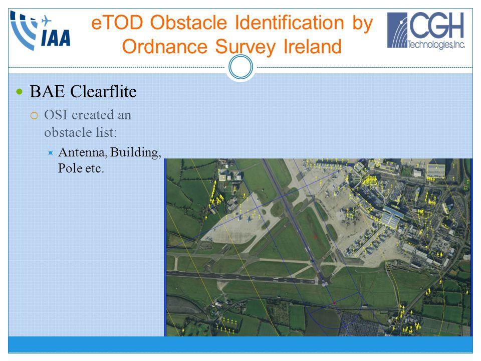 eTOD Obstacle Identification by Ordnance Survey Ireland