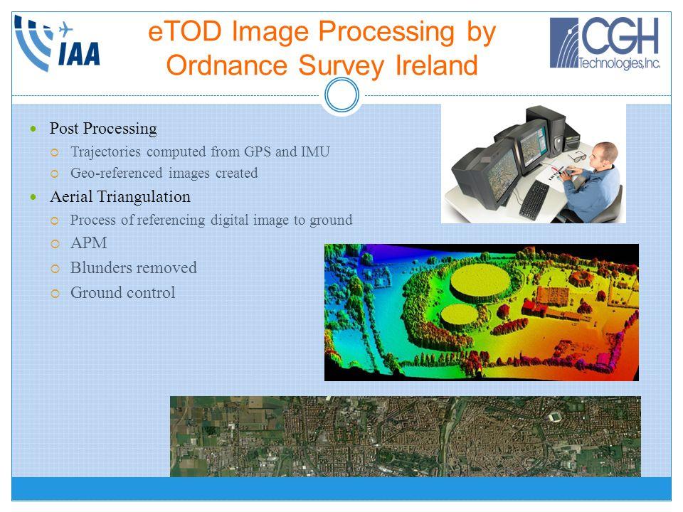 eTOD Image Processing by Ordnance Survey Ireland