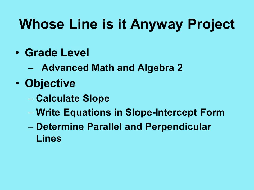 Project Implementation Into The Mathematics Classroom Ppt Video