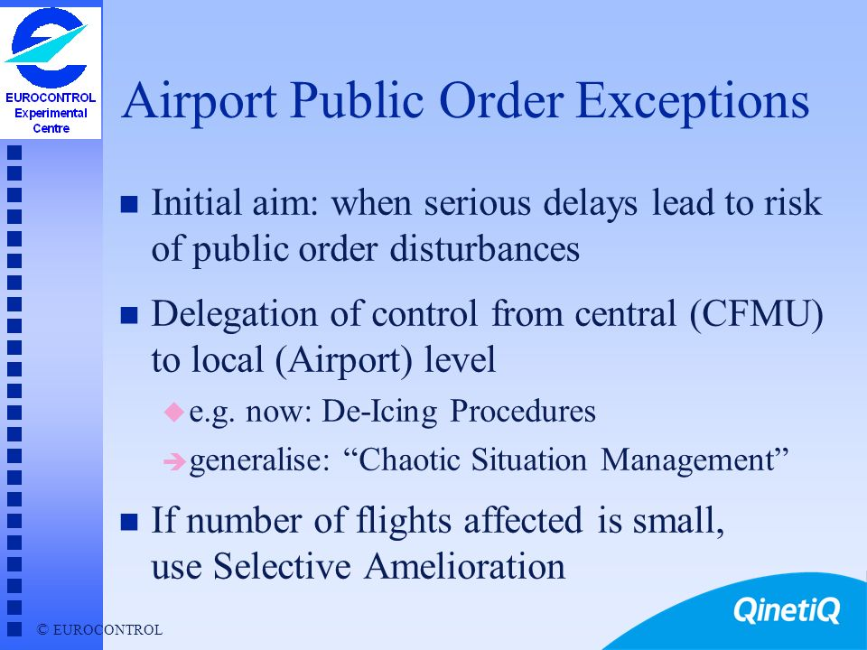 Airport Public Order Exceptions