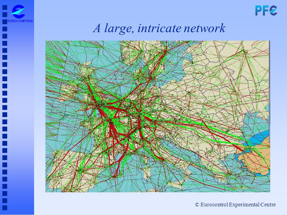 A large, intricate network