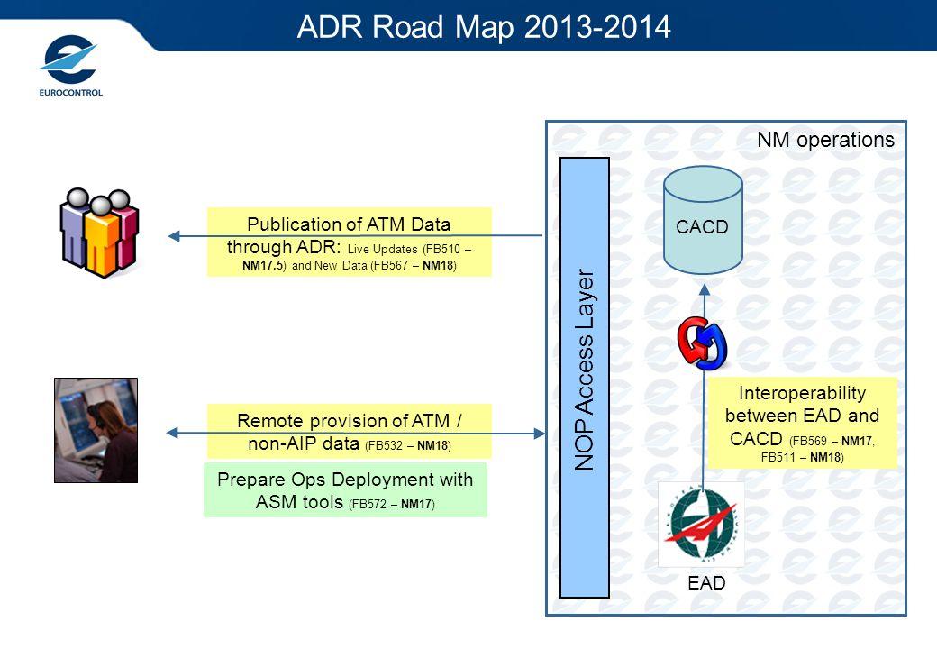 ADR Road Map 2013-2014 NOP Access Layer NM operations