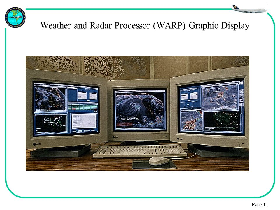 Weather and Radar Processor (WARP) Graphic Display