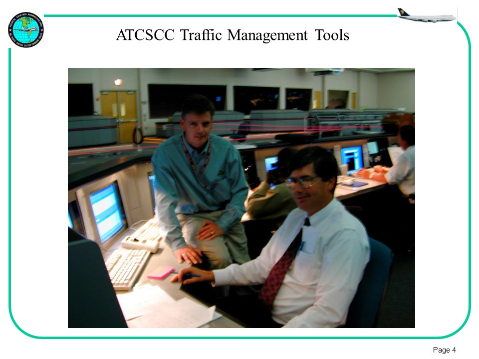 ATCSCC Traffic Management Tools