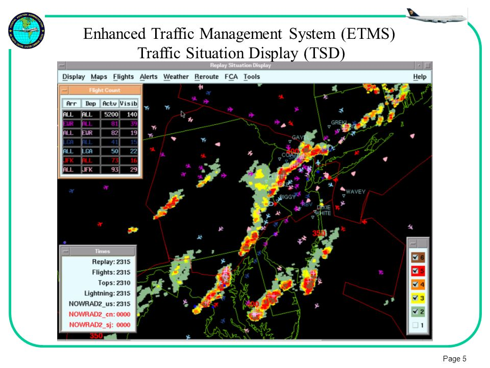 Enhanced Traffic Management System (ETMS)