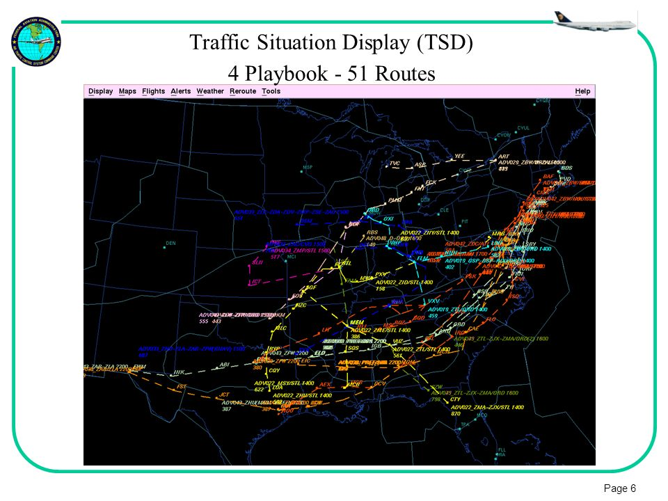 Traffic Situation Display (TSD)