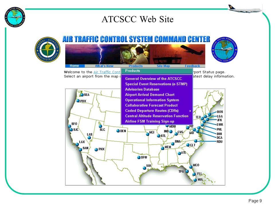 ATCSCC Web Site