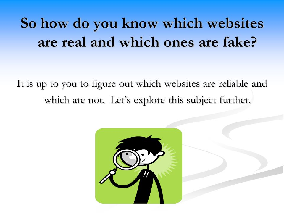 How to know real from fake dating sites