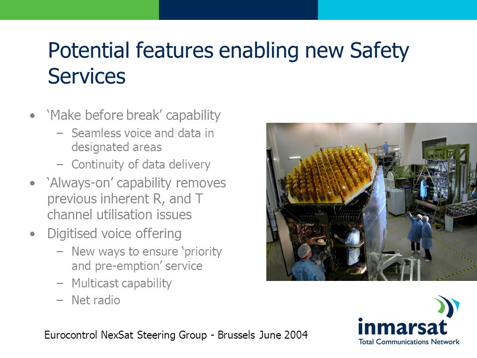 Potential features enabling new Safety Services