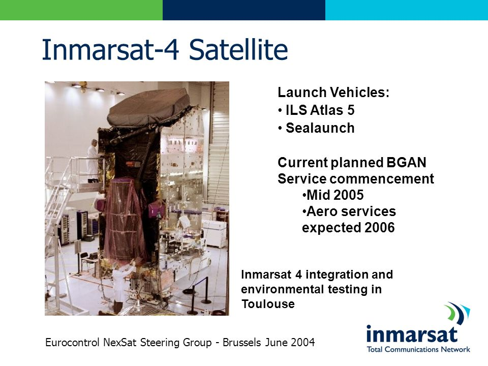 Inmarsat-4 Satellite Launch Vehicles: ILS Atlas 5 Sealaunch