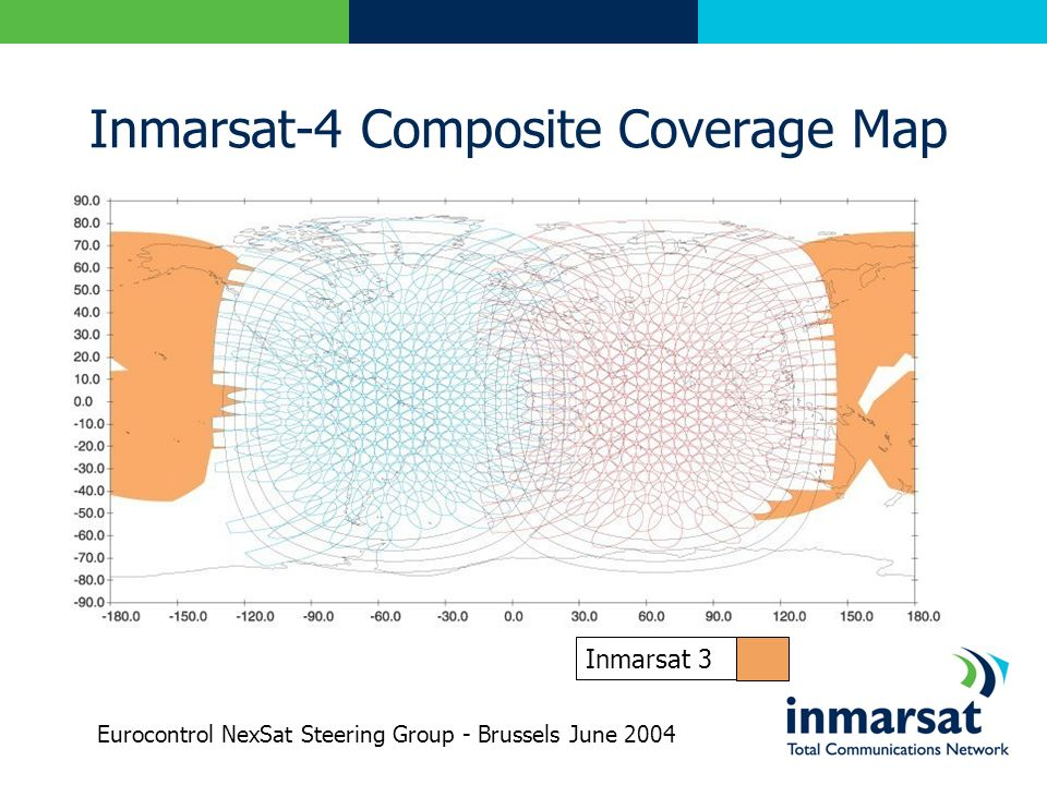 Inmarsat-4 Composite Coverage Map