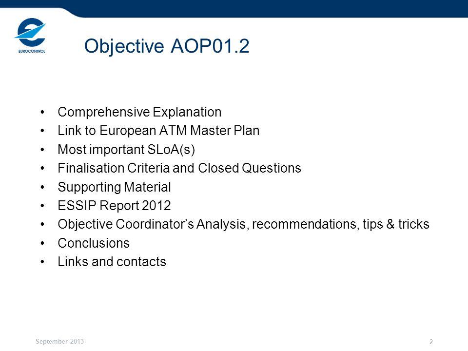 Objective AOP01.2 Comprehensive Explanation