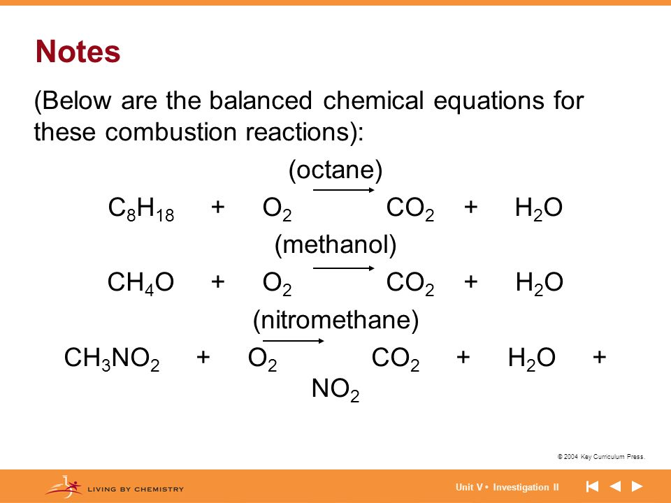 How do you write chemical equations for combustion reactions?