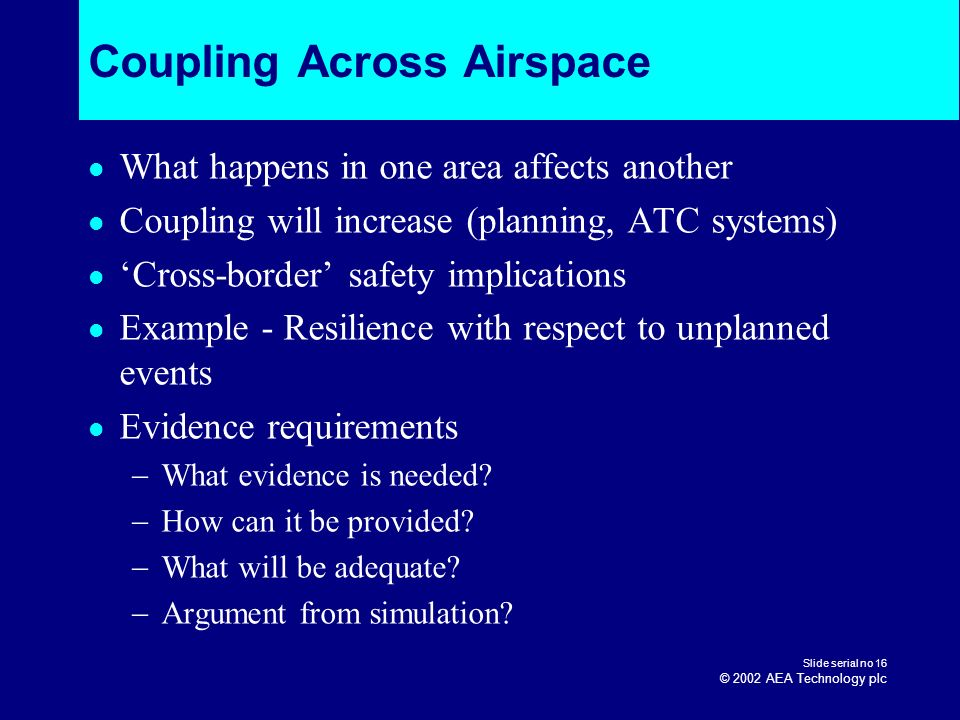 Coupling Across Airspace