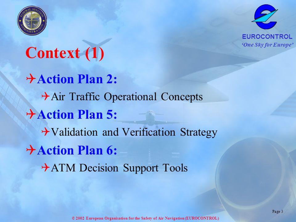 Context (1) Action Plan 2: Action Plan 5: Action Plan 6: