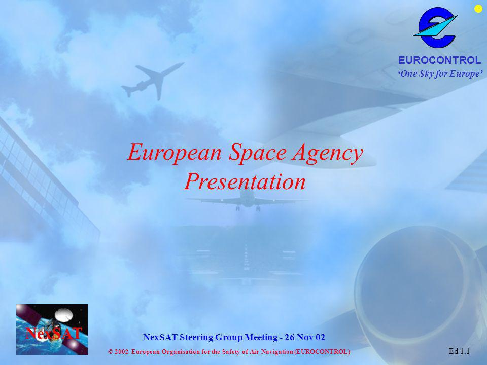 European Space Agency Presentation