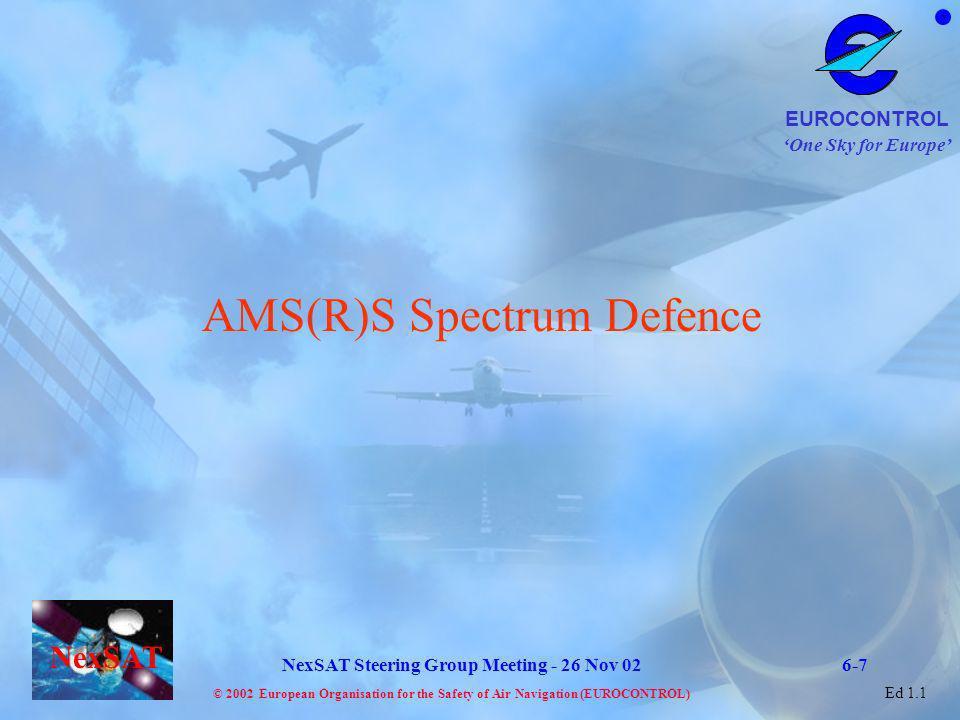 AMS(R)S Spectrum Defence