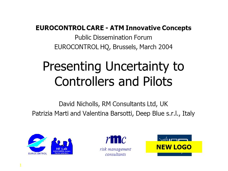 Presenting Uncertainty to Controllers and Pilots