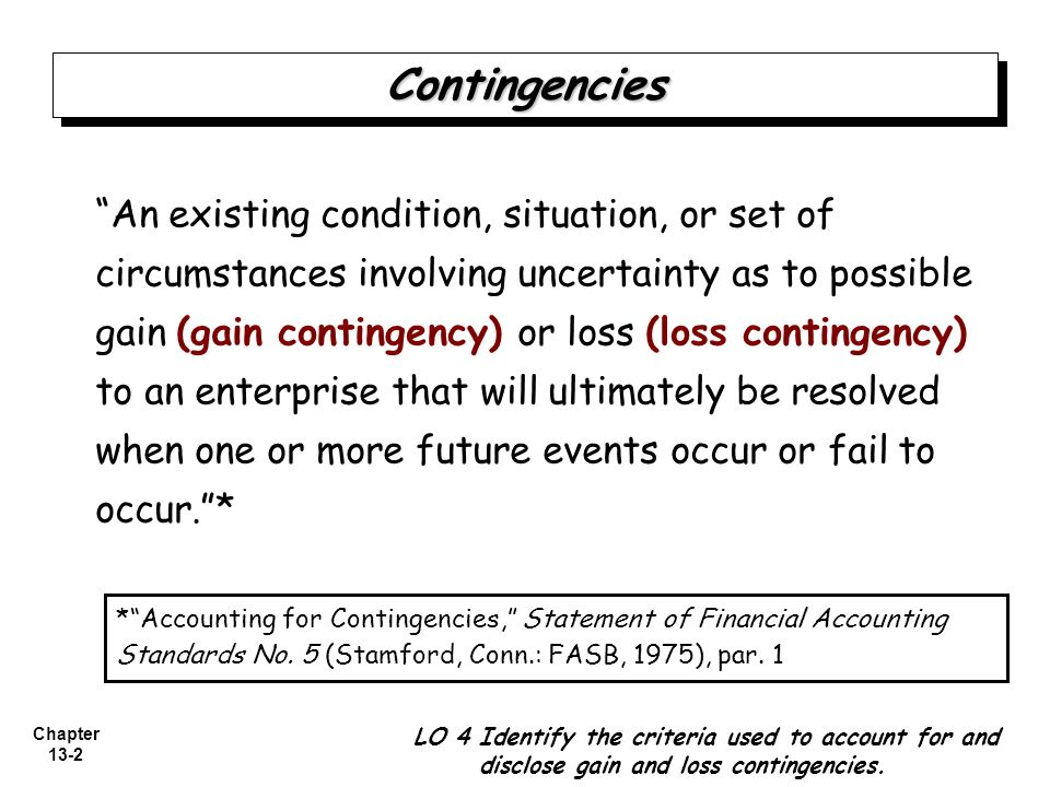 case 13 8 accounting for a loss contingency Case 13-8: accounting for a loss contingency for a verdict overturned on  appeal 1 according to the case, it shows that management of m.