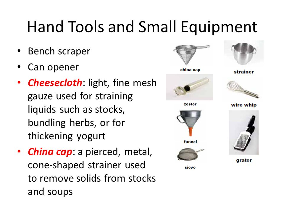 Essential kitchen tools and equipment - Chapter 5 Kitchen Essentials 2 Equipment And Techniques