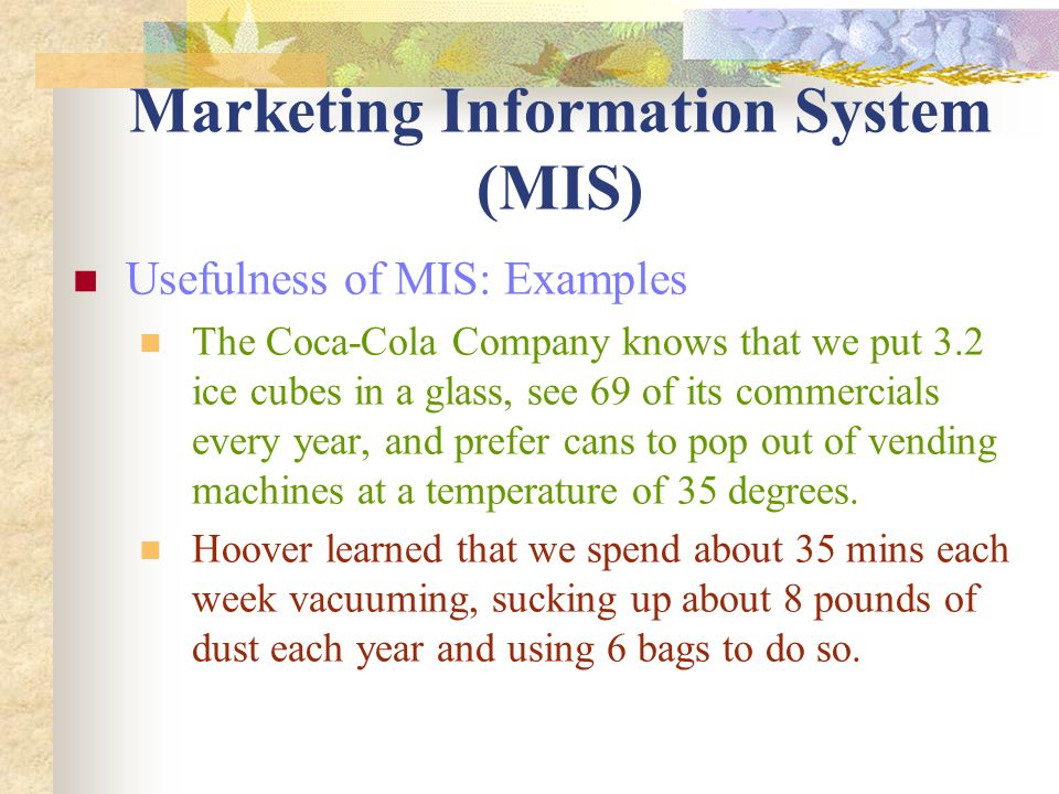Marketing Information System – How Its work