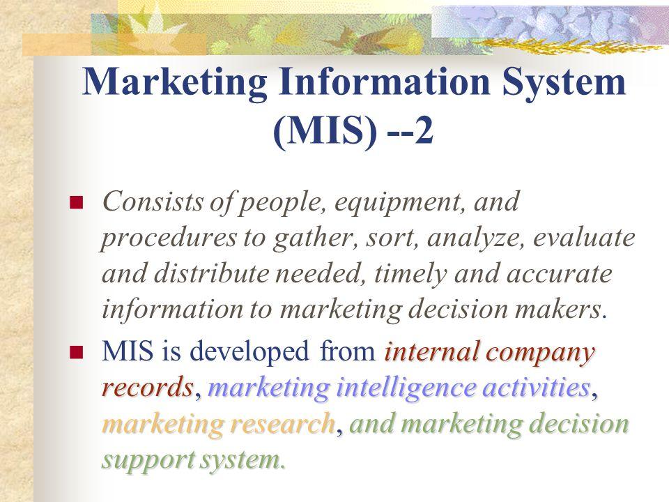 a marketing intelligence system The benefits of marketing intelligence for your brand.
