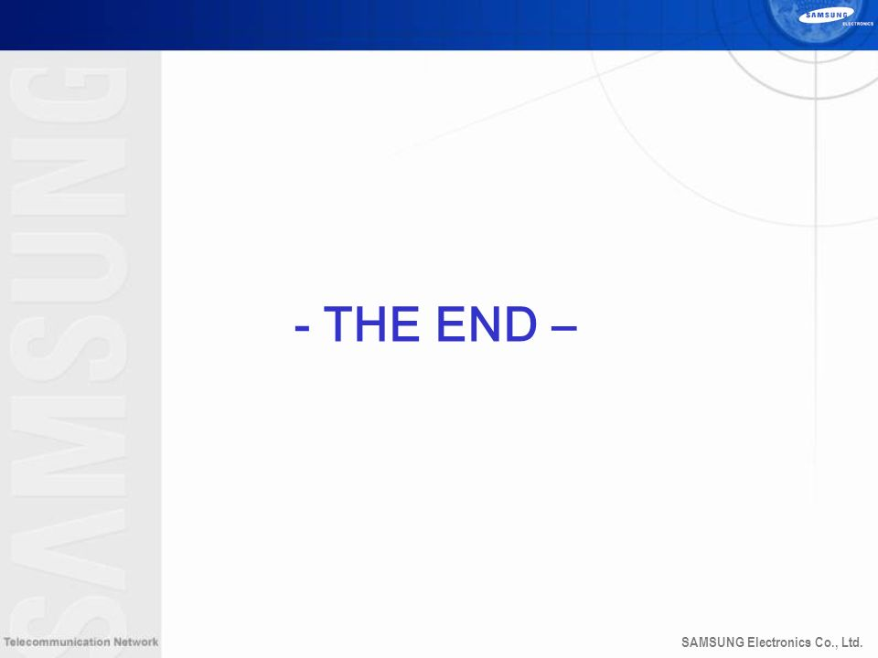 - THE END – 43