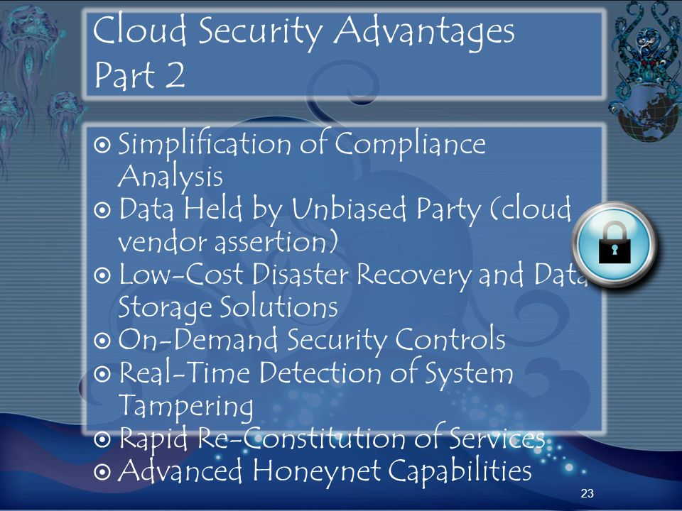 Cloud Security Advantages Part 2