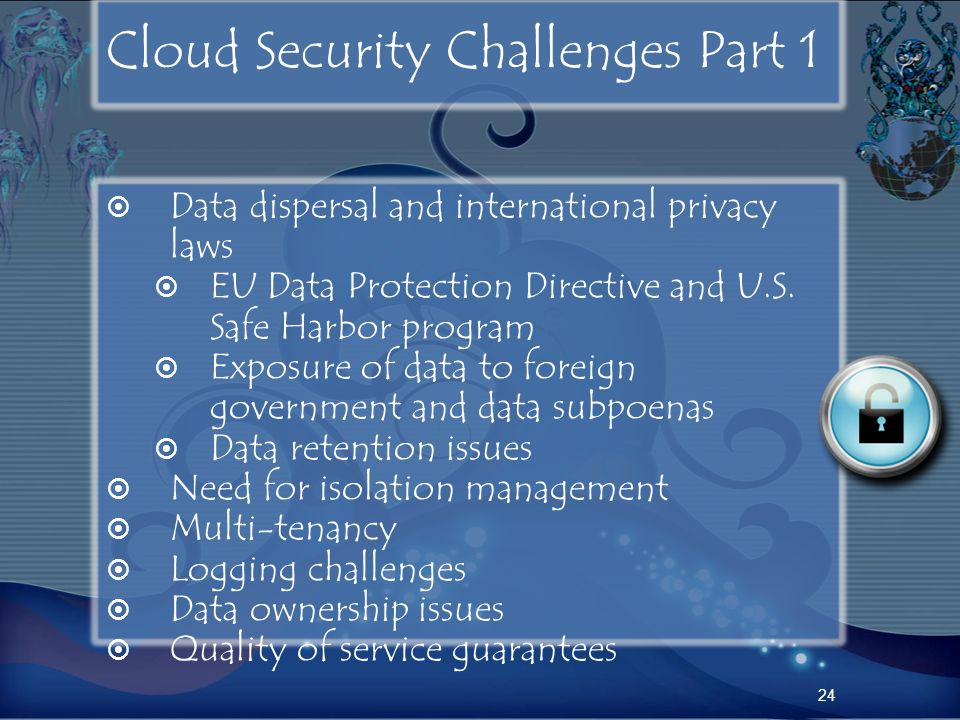 Cloud Security Challenges Part 1