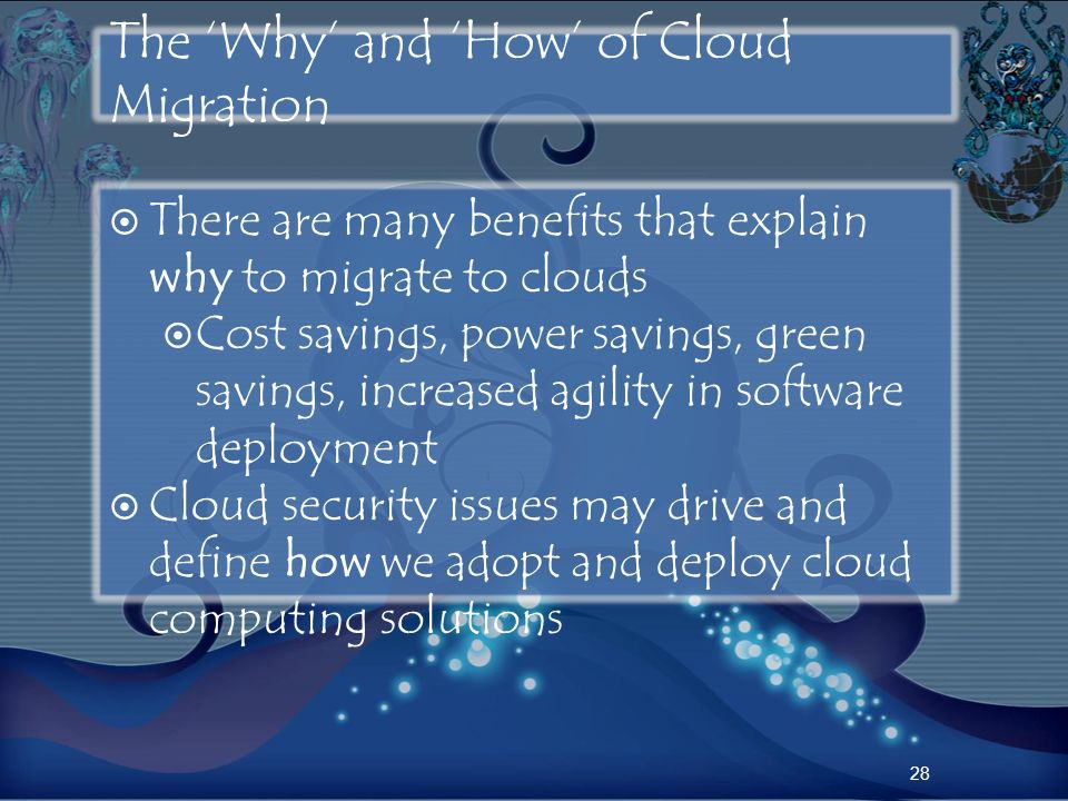 The 'Why' and 'How' of Cloud Migration
