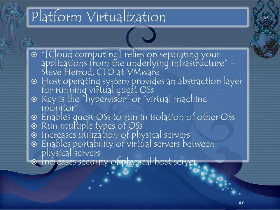 Platform Virtualization