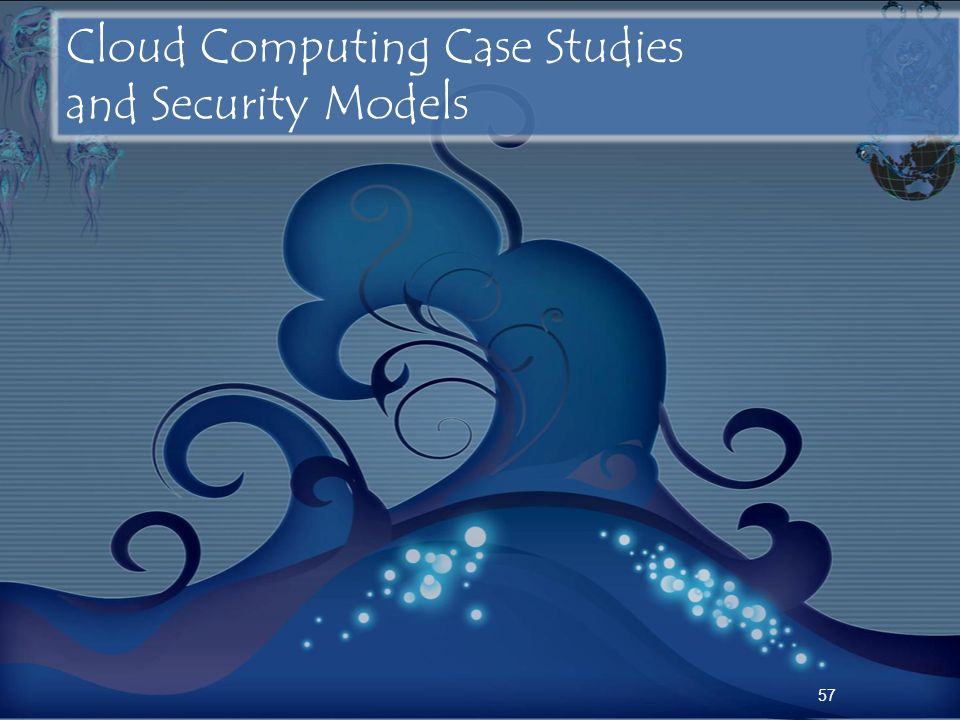 Cloud Computing Case Studies and Security Models
