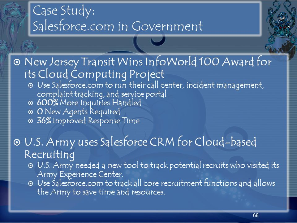 Case Study: Salesforce.com in Government