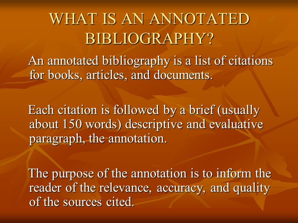 cornell university library annotated bibliography tutorial Cornell's library libguide  or our own video tutorial from professor markham   the annotated bibliography will be rated, and its score will be a part of the.