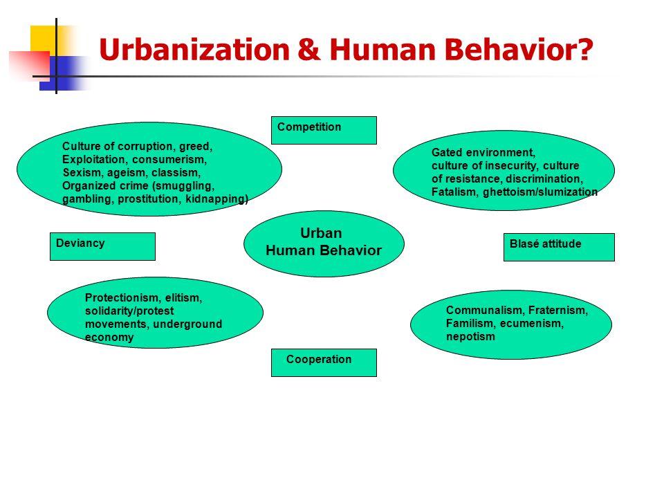 Urbanization & Human Behavior
