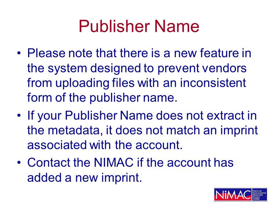 Publisher Name